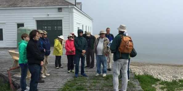Plum Island visitors