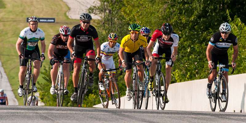 The annual Tour de Road America raises money for charity.