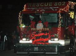 Image for Christmas in Princeton Holiday Parade