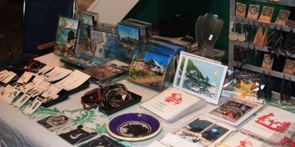 Holiday Boutique at the Madeline Island Museum features local artists, crafts and retailers.