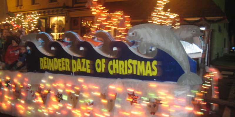 Holiday Parade Floats