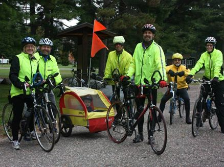 Image for Annual Lakes and Leaves Bike Ride