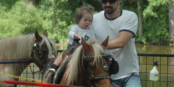 Pony Rides are always great fun!