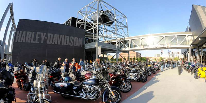 Bike Night at the Harley-Davidson Museum