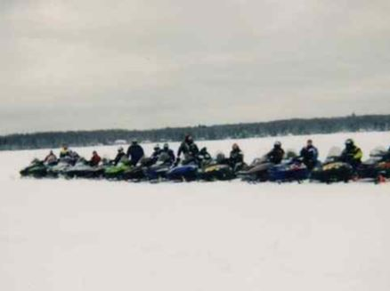 Image for BW SnoHawks Vintage Snowmobile Ride