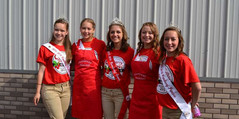 The 2015 Cranberry Festival Royalty!