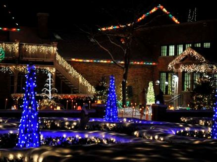 Image for Holiday Light Show at Rotary Botanical Gardens