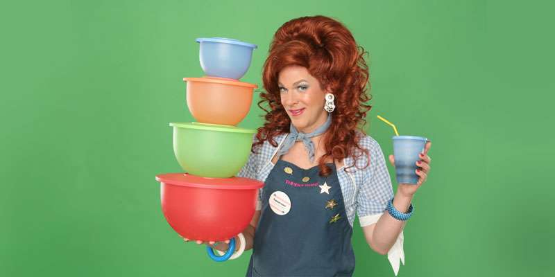 Dixie Longate in Dixie's Tupperware Party