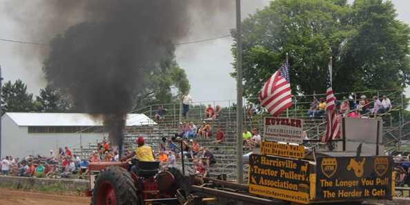 Enjoy the tractor pulls!