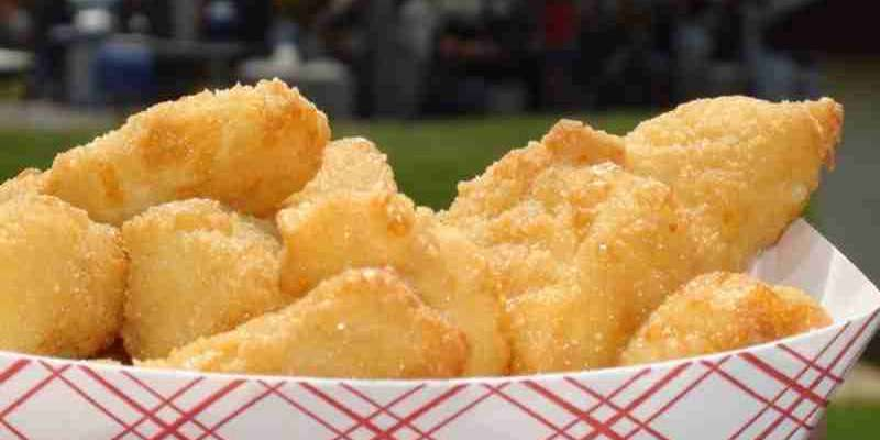 Fresh curd sampling & fried curds at several food booths!