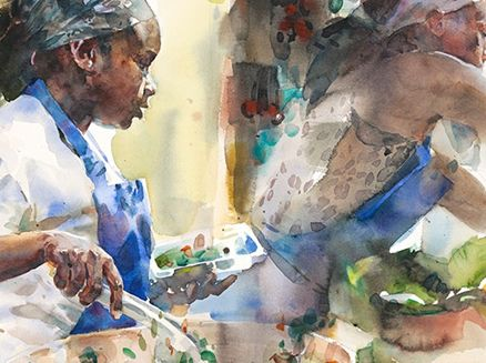 Image for Transparent Watercolor Society of America 40th Annual National Juried Exhibition