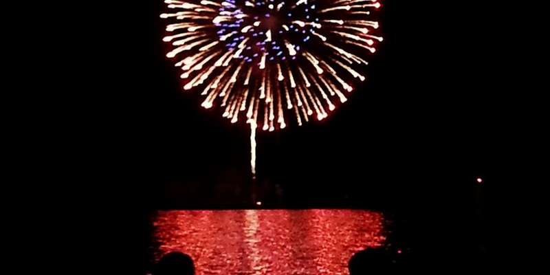 Top off your Shanty Days weekend in Algoma with a spectacular fireworks show over Lake Michigan.
