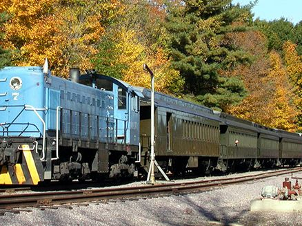 Image for Autumn Color: Train Rides Amid Brilliant Hues of Fall
