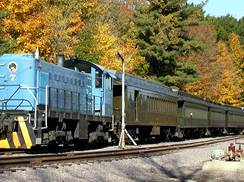 Image for Autumn Color-Train Rides Amid Brilliant Hues of Fall