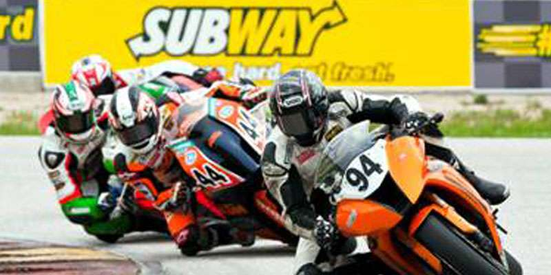 AMA and Subway join forces at Road America.