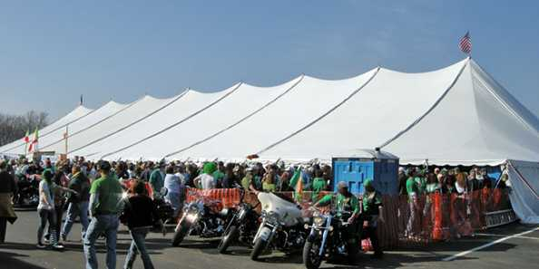New Dublin Irish Fest Tent