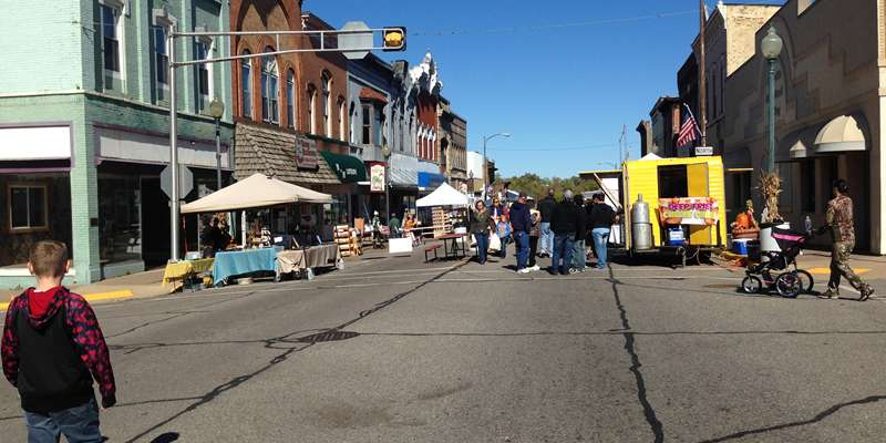 Hewett Street Food & Craft Vendors