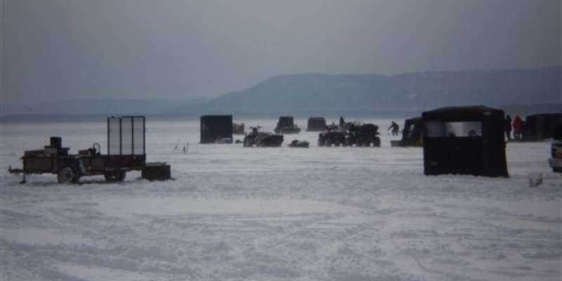 Lake Onalaska Ice Fishing