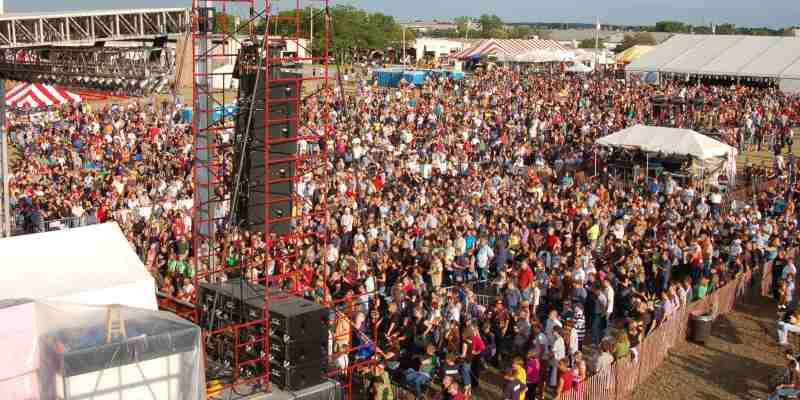 Waukesha County Fair - Crowd