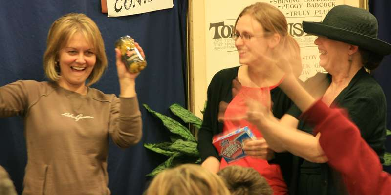 Tongue Twister Contestant Elated with Pickled Peppers prize!