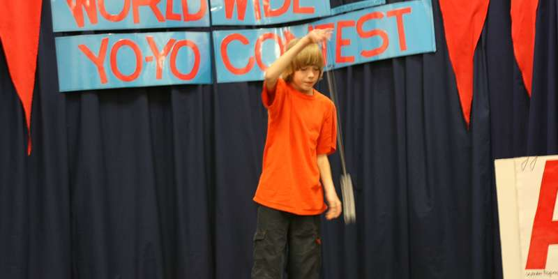 Yo-Yo Contest is a show of skill and talent.