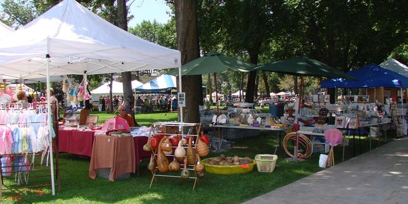 Crafters & Vendors throughout the square