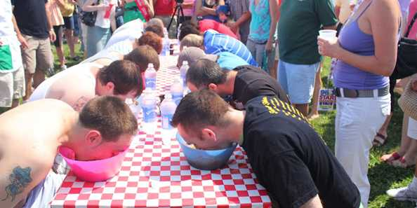 Spaghetti Eating Contest