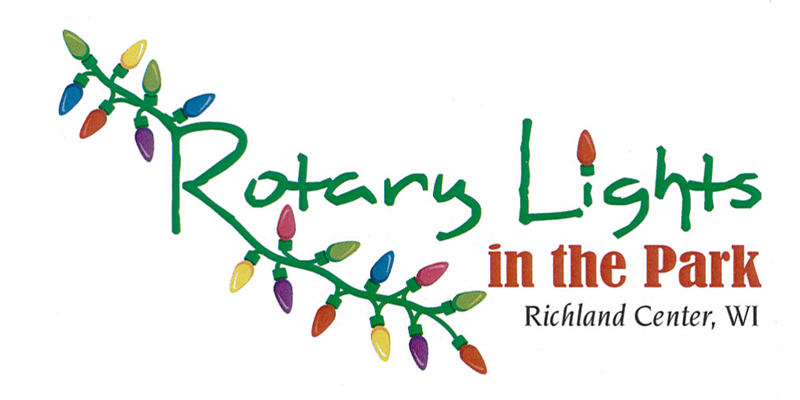 Rotary Lights in the Park Logo