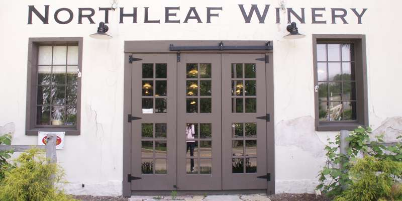 Northleaf Winery Door