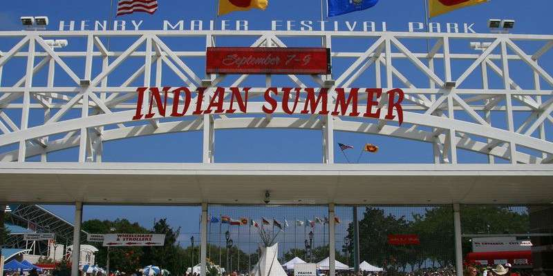 Indian Summer Sign