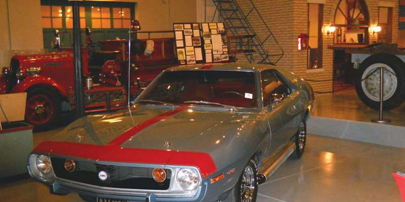 Kenosha History Center AMX Car on Display