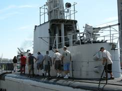 Image for Nook & Cranny Tours Aboard USS Cobia