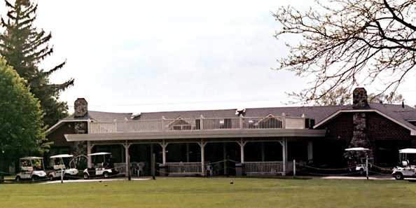 Spring Valley Country Club clubhouse