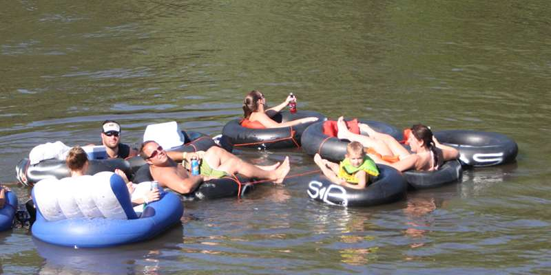 Tubing the Sugar River