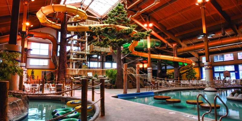 Moose Mountain Falls Waterpark at Timber Ridge