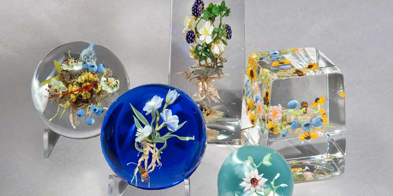 Paul Stankard Paperweights