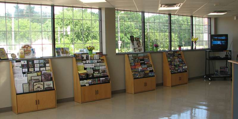 Chippewa Area Visitors Center Interior