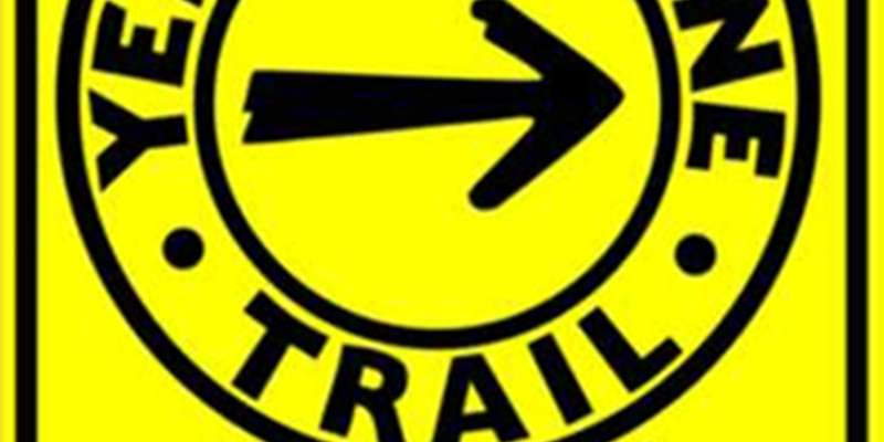 Yellowstone Trail Sign