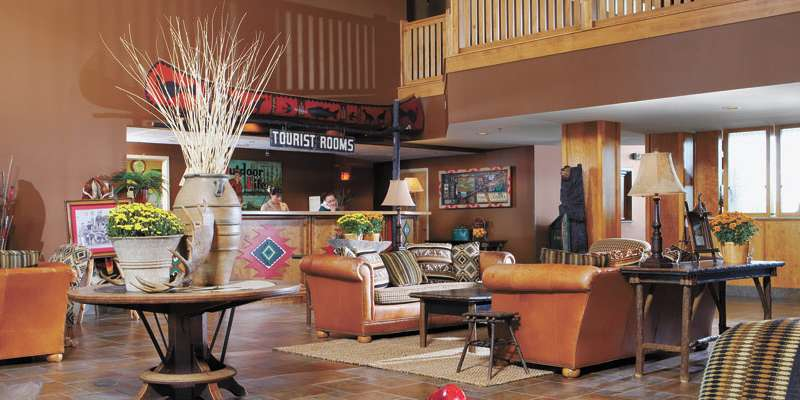 Wildwood Lodge Lobby