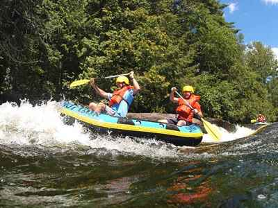 Whitewater Rafting on the Wolf River