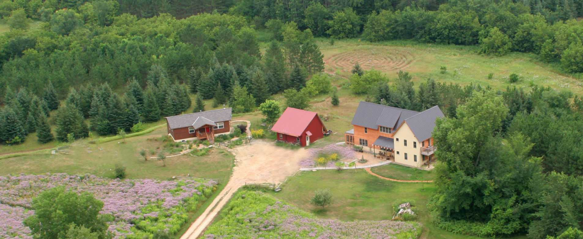 Aerial View of Journey Inn