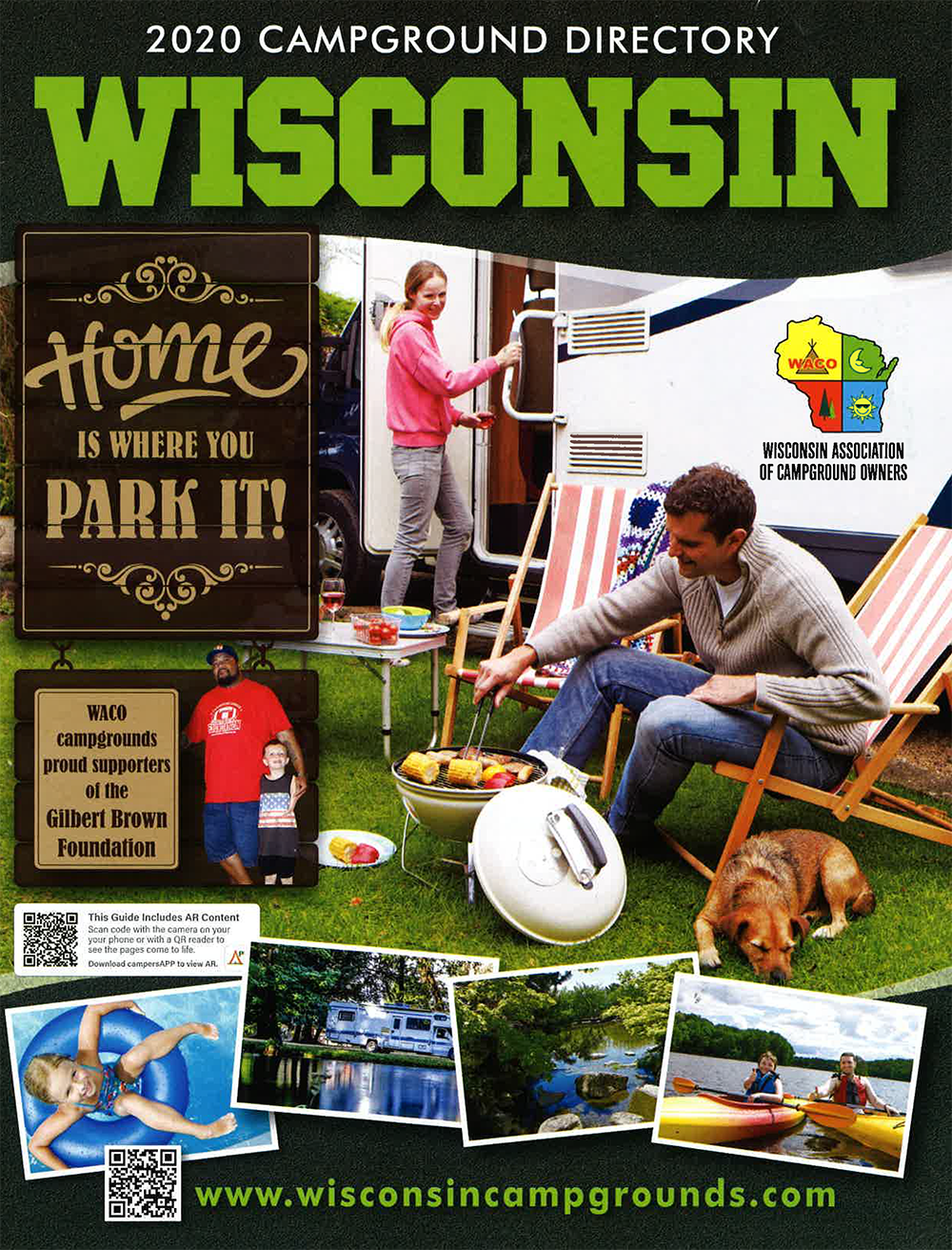 2020 Wisconsin Campground Directory