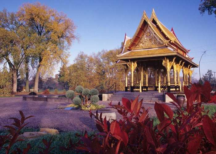 golden Thai pavilion