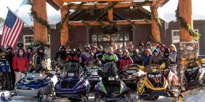 Snowmobile Group Falcon Trail Blazers