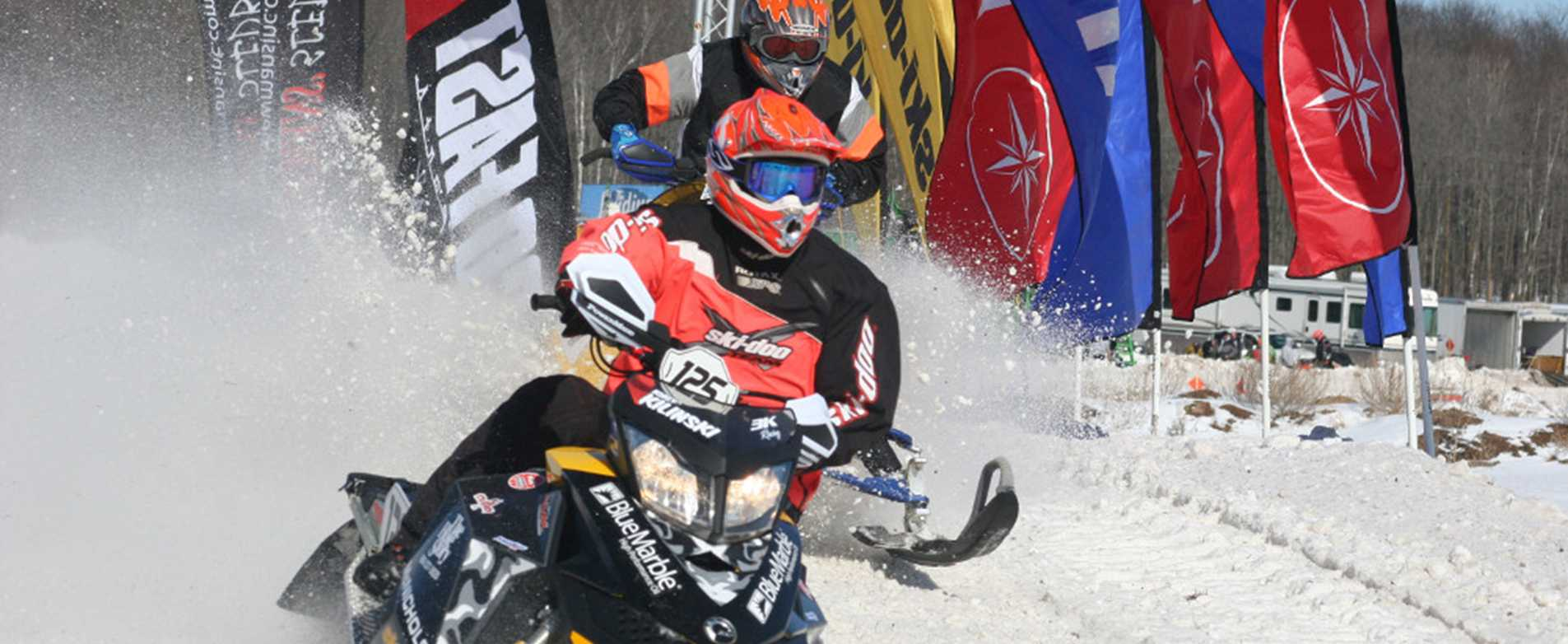 Hayward 300 Snocross Snowmobile Race