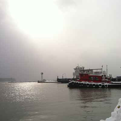 Madeline Island Ferry and Tugboat