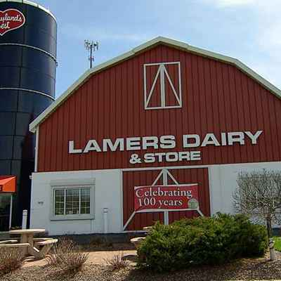 Exterior of Lamers Dairy