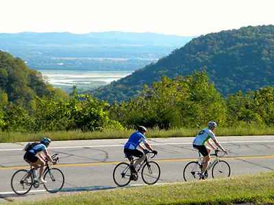 Biking in La Crosse