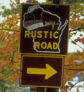 Rustic Roads Sign