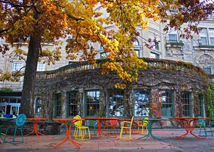 Fall at the UW Memorial Union Terrace – Madison
